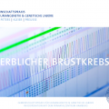 Erblicher Brustkrebs- Flyer 2016